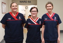 Photograph of RPH nurses