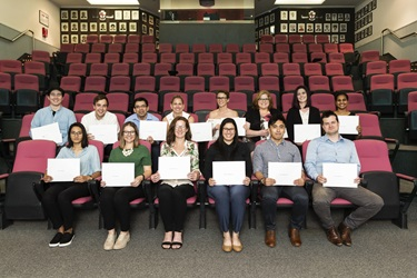 Photograph of young investigators