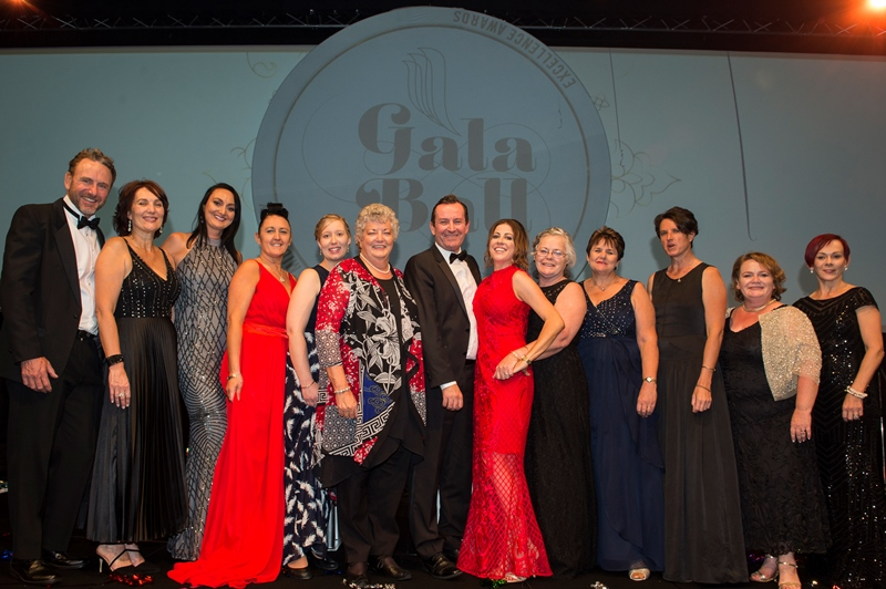 Photograph from Nursing and Midwifery Awards